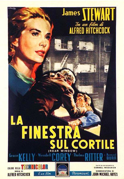 REAR WINDOW (LA FINESTRA SUL CORTILE, 1954)